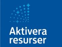 Aktivera resurser-projektets logo, en radare.