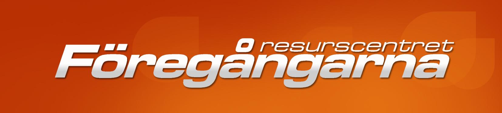 Resurscentret Föregångaren työpajan logo