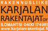 Rakennusliike Karjalan Rakentajien logo