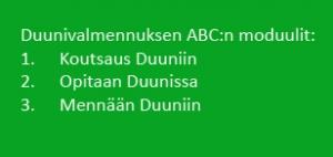 Tukea duuniin – Duunivalmennuksen ABC
