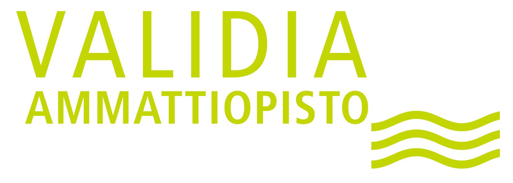 Validia Ammattiopiston logo