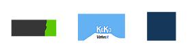 Logoja: Vates-säätiö sr, KeKo, Veikkaus