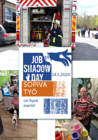 Job Shadow Day -esitteen kansikuva