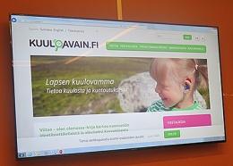 Kuvakaappaus Kuuloavaimen nettisivuilta.