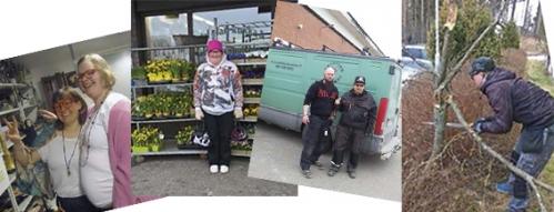ob Shadow Day 2018 tunnelmia mm. kukkakaupassa ja ulkotöissä.