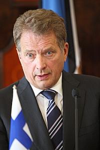 Presidentti Niinistö. Kuva: Tasavallan presidentin kanslia