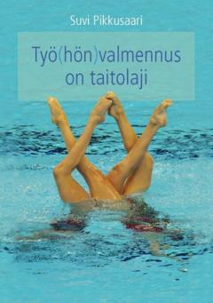 Kirjan kansikuva, kuviouimarit vedessä.