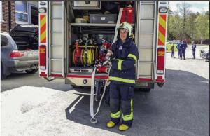 Keväällä 2019 Keijo Eronen pääsi seuraamaan työtä Ilomantsin palolaitokselle.