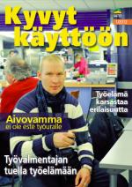 Kyvyt käyttöön -lehden kansi 1/2012 ja linkki lehden pdf-tiedostoon).