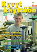 Kyvyt käyttöön -lehden kansi 1/2013 ja linkki lehden pdf-tiedostoon).