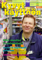 Kyvyt käyttöön -lehden kansi 2/2013 ja linkki lehden pdf-tiedostoon).