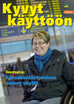 Kyvyt käyttöön -lehden kansi 3/2013 ja linkki lehden pdf-tiedostoon).