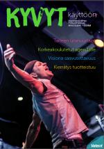 Kyvyt käyttöön -lehden kansi 2/2014 ja linkki lehden pdf-tiedostoon).