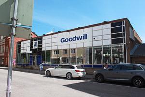 Kuva Goodwillin toimitalosta