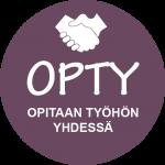 OPTY hankkeen logo.