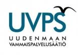 Uudenmaan Vammaispalvelusäätiön logo.