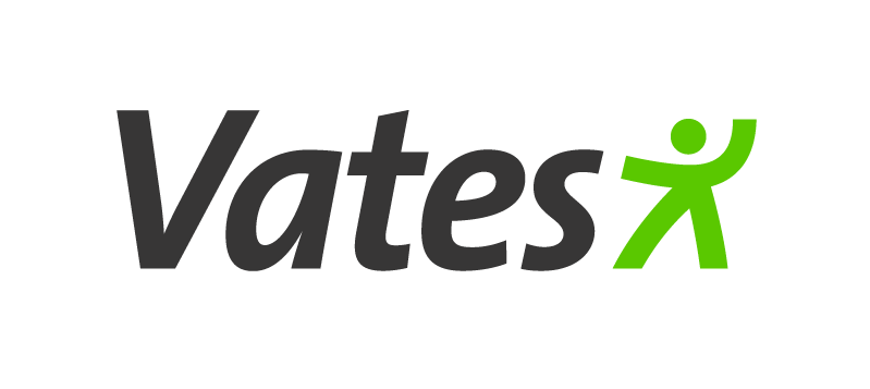 Vates-säätiön logo.