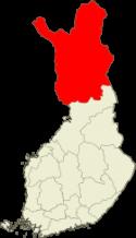 Lappi Suomen kartalla