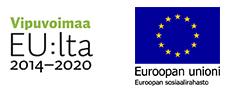 Euroopan sosiaalirahaston logot.
