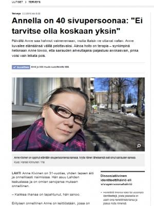 Annen tarina kiinnostaa suomalaisia