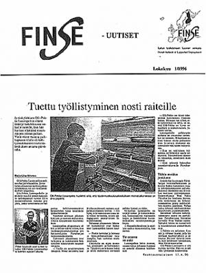 Tuettu työllistyminen nosti raiteilleen (Keski-Suomalainen 1996)