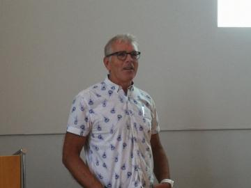 Bertil Johansson, Ruotsin tuetun työllistämisen yhdistyksen hallituksen puheenjohtaja.