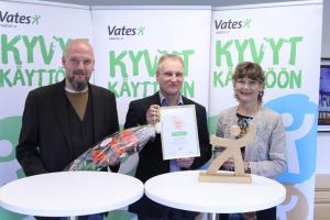Olavi Sydänmaalakka, Simo Klem ja Jaana Pakarinen.